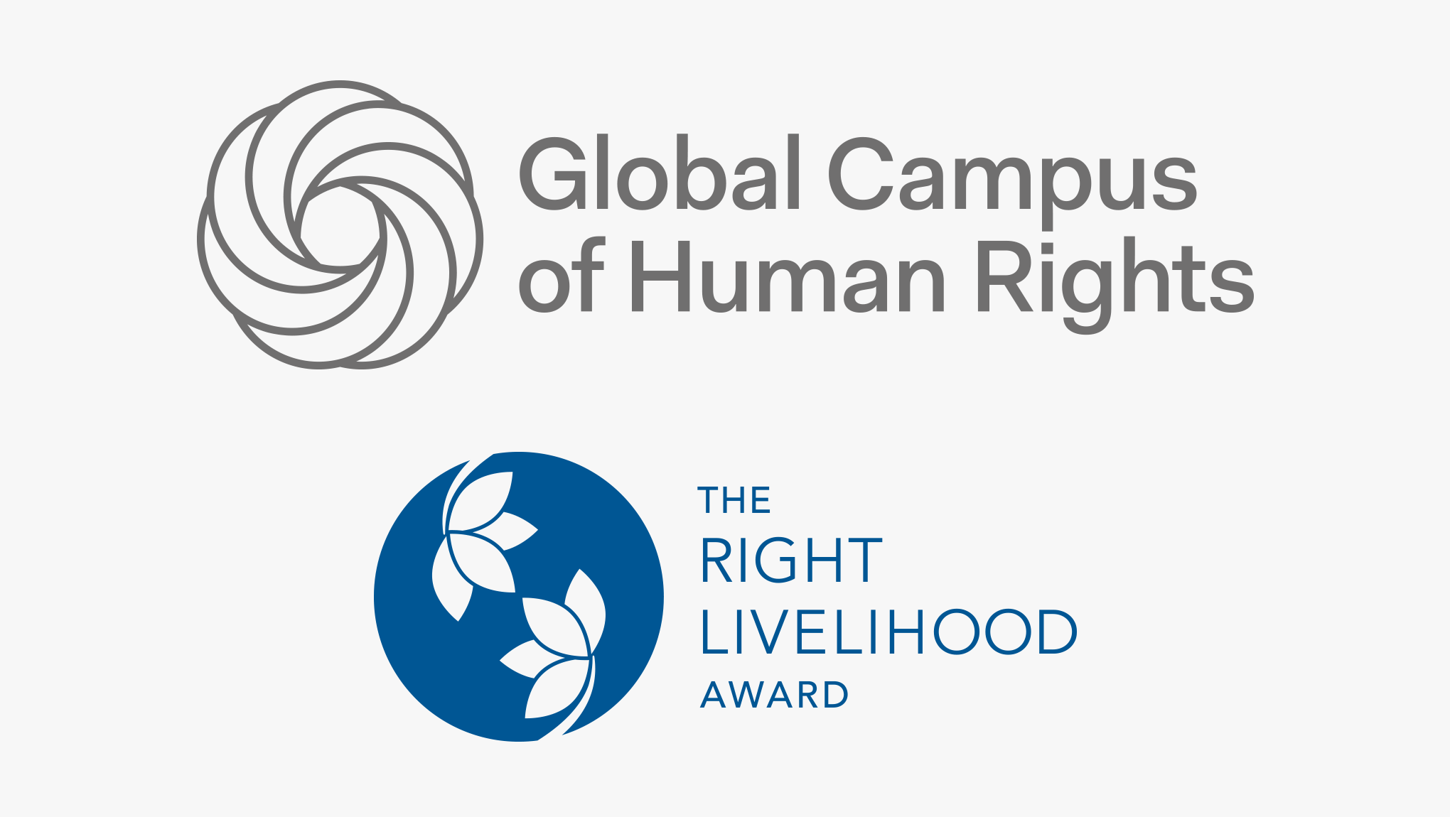 The Global Campus of Human Rights enters into new educational partnership with the Right Livelihood Foundation
