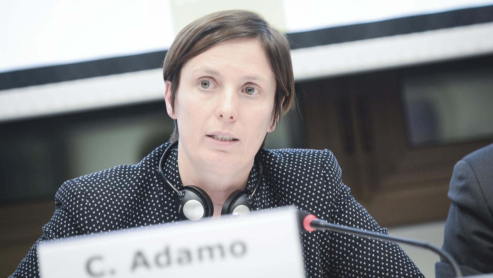 Interview with Chiara Adamo during the European Development Days