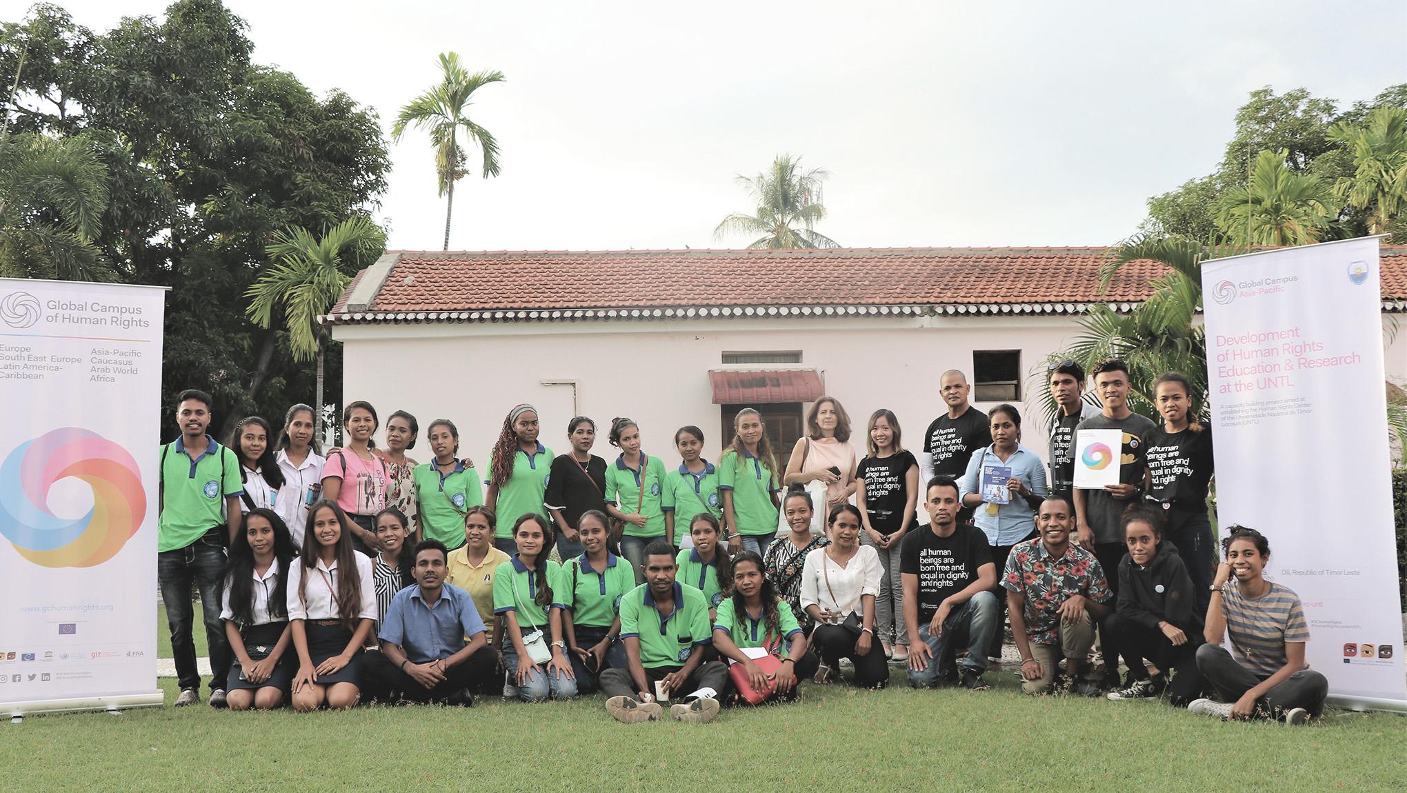 Inauguration Ceremony of the Human Rights Center at the Universidade Nacional Timor Lorosa'e