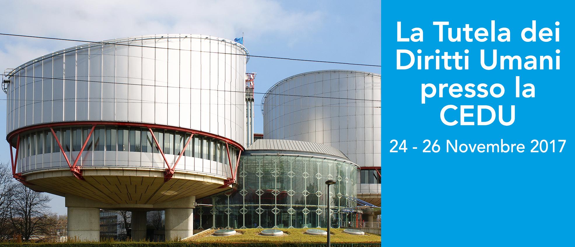 Training su La Tutela dei diritti Umani presso la CEDU