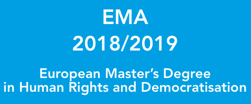 The European Master's Programme in Human Rights and Democratisation (EMA)