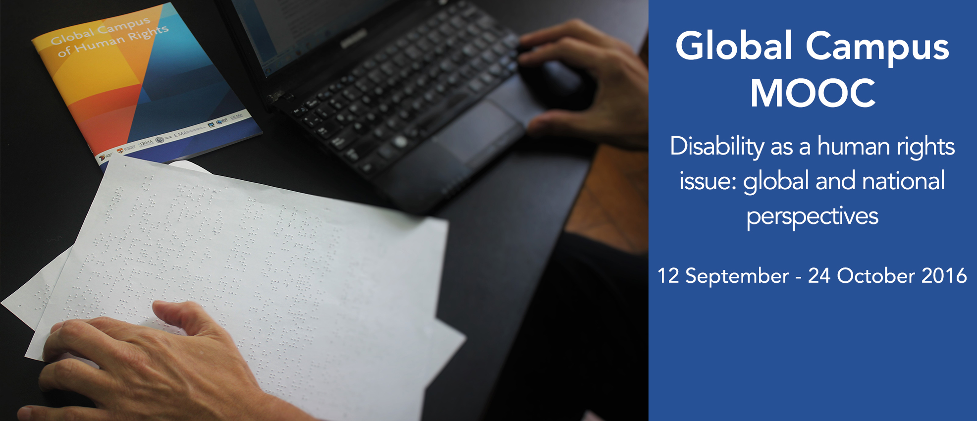 Global Campus MOOC - Disability as a human rights issue: global and national perspectives